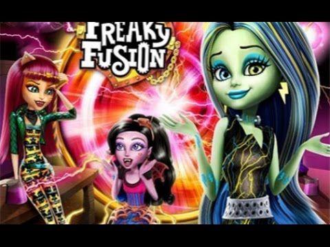 Monster High Freaky Fusion Full Length Movie Youtube