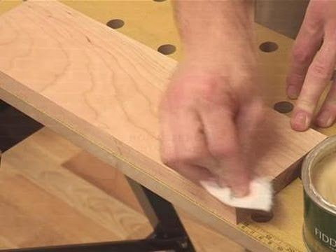 How To Do A Wax Finish. This is a quick demonstration on how to wax a raw piece of freshly sanded furniture. Finishing a surface with a wax is not going to be as durable as a lacquer but it is an inexpensive alternative; I recommend Aussie Furniture Care Furniture Wax in Clear, Brown or Black http://furniturecareproducts.com.au/furniture-wax/