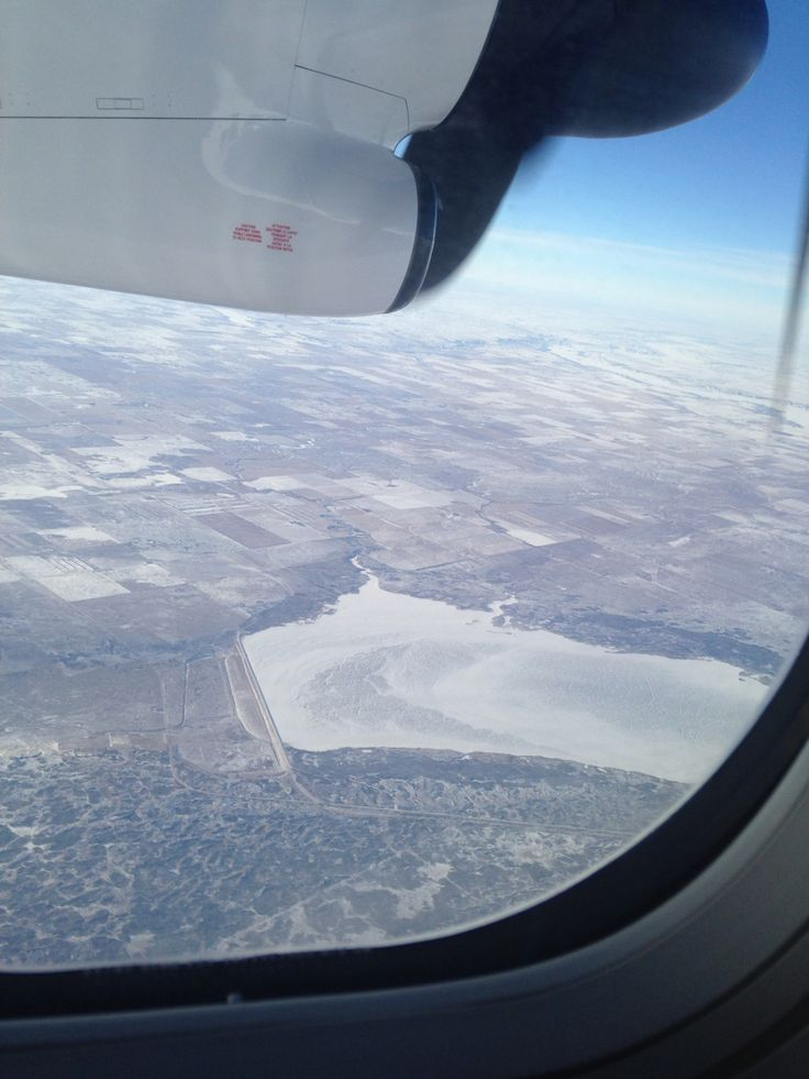 a flight-picture taken somewhere over saskatchewan, canada, on my way to vancouver.
