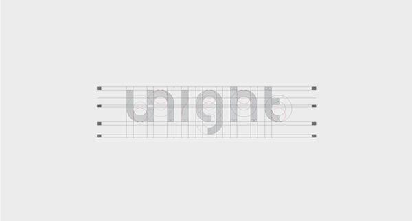 Logo planimetry for Unight - Planimetría de logo para Unight / #Logo #BrandIdentity #GraphicDesign #PowerfulBrands #DesignByRocket