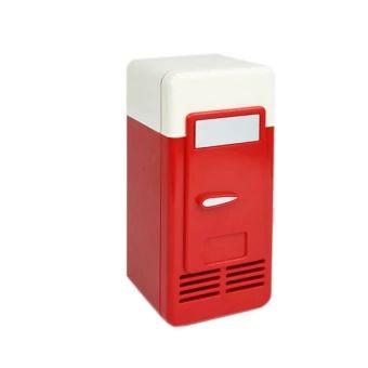 ซื้อเลย  Mini USB Fridge Refrigerator Icebox USB Can Cooler (Red)  ราคาเพียง  597 บาท  เท่านั้น คุณสมบัติ มีดังนี้ Color: Red. Material: Durable plastic. Dimensions 19.4 *9 * 9cm.& Fits standard beverage cans to 0.33L.& Inside illuminated with fancy LEDlighting.& Cooling temperature: about 8-9C.& Simply powered through the USB port withpower.& You can keep your beverage chilled and stay at yourcomputer longer with this mini fridge by your side.