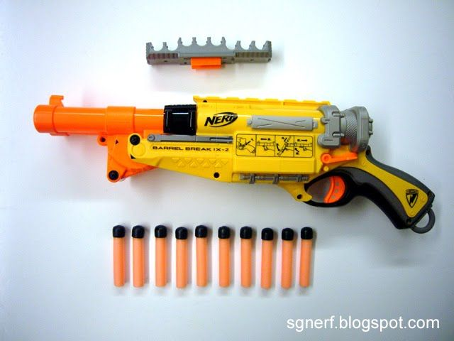 Nerf Lonshot 50 cal mod. by AlTheGeek ...