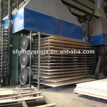 bamboo plywood form making machine/hot press machine /bamboo plywood production line