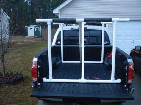 DIY Kayak Truck Rack   Camping