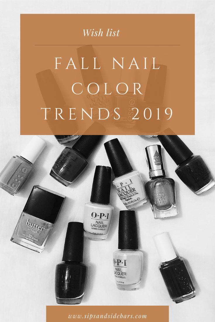 These fall nail color trends are giving me all the fall feels! See my top picks ...