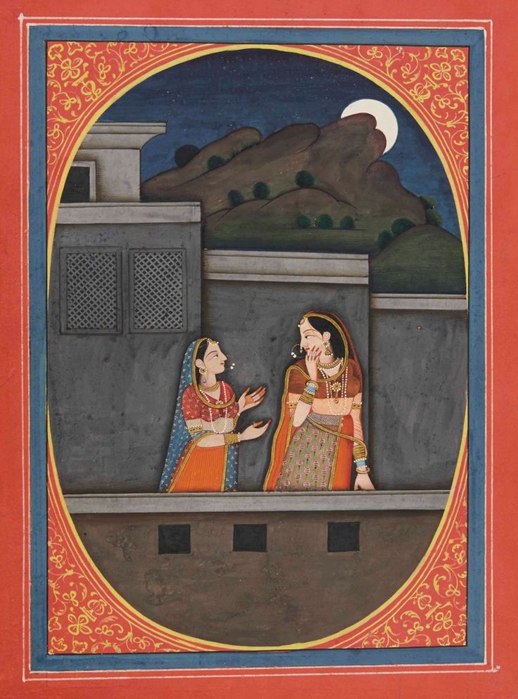 Kala Ksetram, Radha at moonlight   In order to reach her lover...