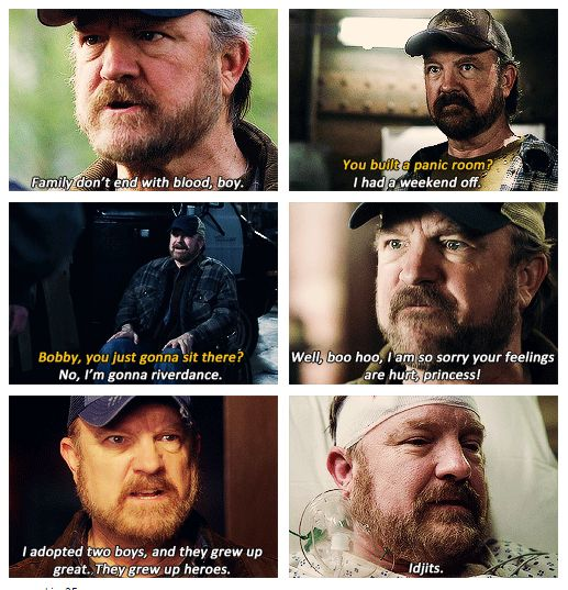 Bobby Singer                                                                                                                                                                                 More