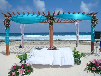 Grand Bahia Principe Akumal Hammock Wedding Site
