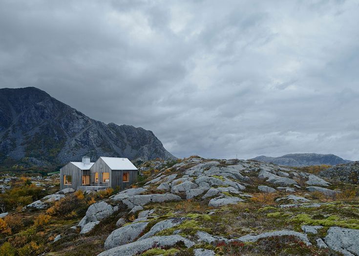 Charming Vega Cottage is a Romantic Getaway in the Wild Arctic Landscape