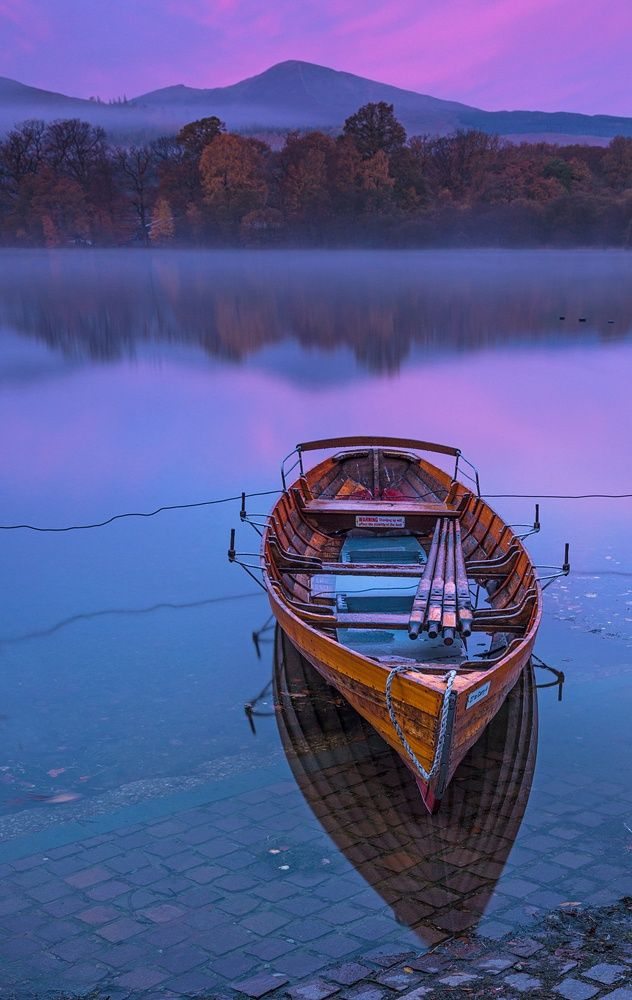 Boat at First Light by Aubrey Stoll on 500px