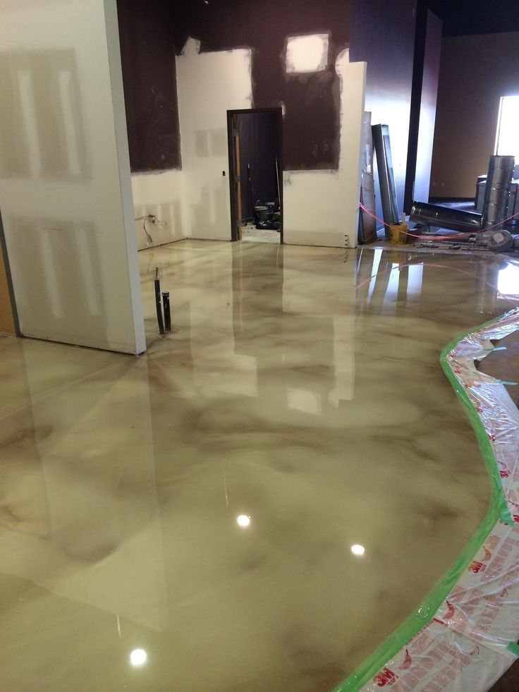 15 best images about metallic epoxy floors on pinterest for Decorative flooring ideas
