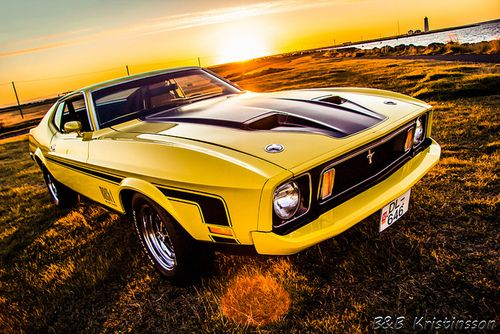 ford mustang mach 1 73 by b b kristinsson top gear. Black Bedroom Furniture Sets. Home Design Ideas