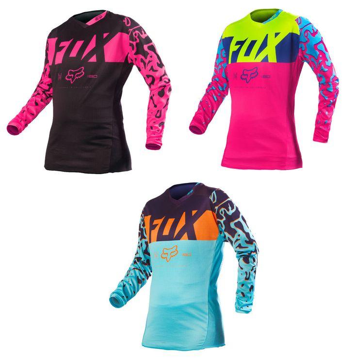 Fox Racing Womens & Youth 180 Motocross Dirt Bike Jersey MX ATV 2016 #FoxRacing
