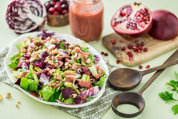 Radicchio Salad with Cranberry Orange Dressing � Thanksgiving 2014