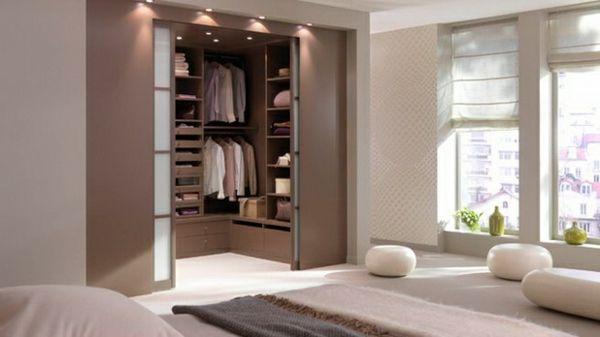 schlafzimmer ankleidezimmer planen offener kleiderschränke begehbarer kleiderschrank systeme
