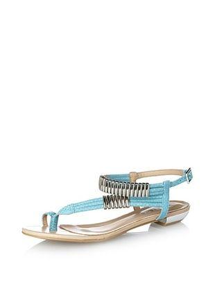 53% OFF Klub Nico Women's Remi Sandal (Turquoise)