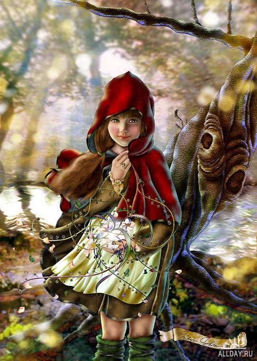 LITTLE RED RIDING HOOD - ARTIST UNKNOWN