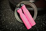 Tickle Me Pink - Custom Rx jump rope... waaaant! Thinking pink handles with green or blue cables, or vice versa. Someday I'll treat myself!