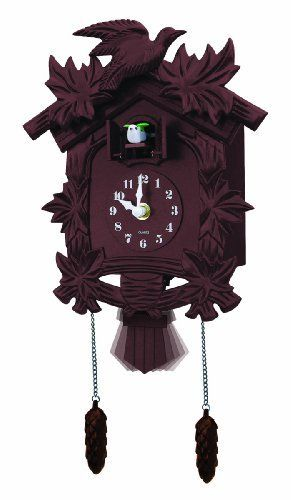 Newhall Old World Cuckoo Clock, Brown by Newhall, http://www.amazon.com/dp/B006BDW5TO/ref=cm_sw_r_pi_dp_4H72qb16RVRC2