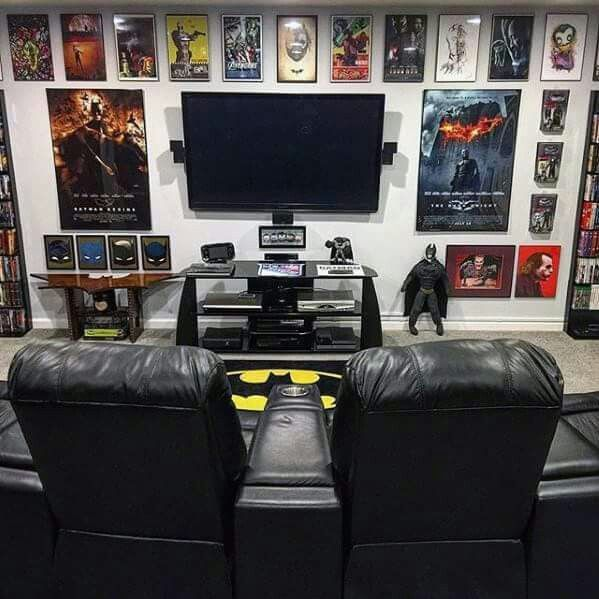 40 Best Game Room Ideas Game Room Setup For Adults Kids Attic Game Room Man Cave Room Man Cave Design
