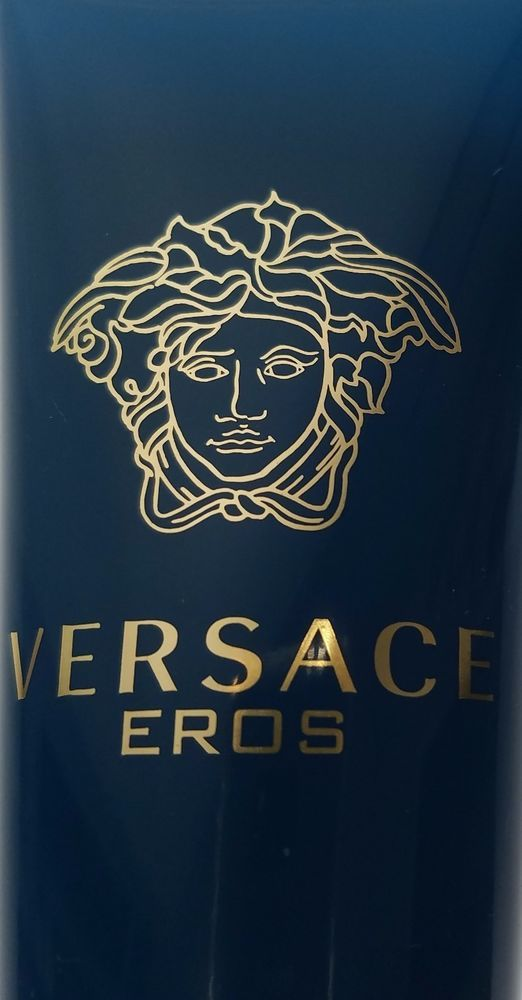 Versace Eros Pour Homme 100 ML Invigorating Men Shower Gel New Tube Sealed  #Versace