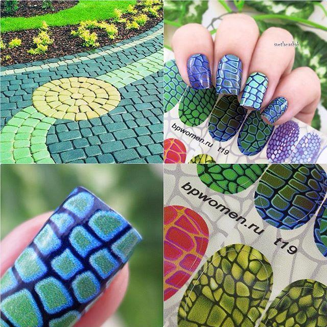 Lujoso Uñas De Papel De Aluminio Motivo - Ideas de Pintar de Uñas ...