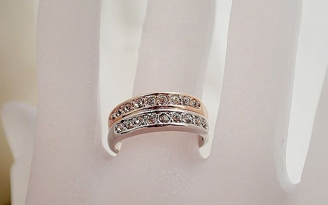 Women Rings Jewelry Simple Single Row Small Fashion Diamond Ring Sale JW1R029 #Unbranded #Bow