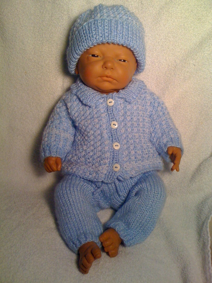 I Knitted This For A Reborn Baby Doll It Was Made From A