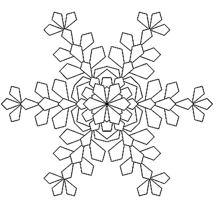87 best color me happy! images on pinterest   coloring books ... - Mandala Snowflakes Coloring Pages