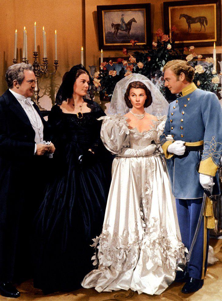 Pin for Later: Die 45 schönsten Hochzeitskleider aus Film und Fernsehen Vom Winde verweht