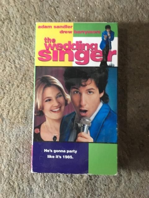 The Wedding Singer VHS
