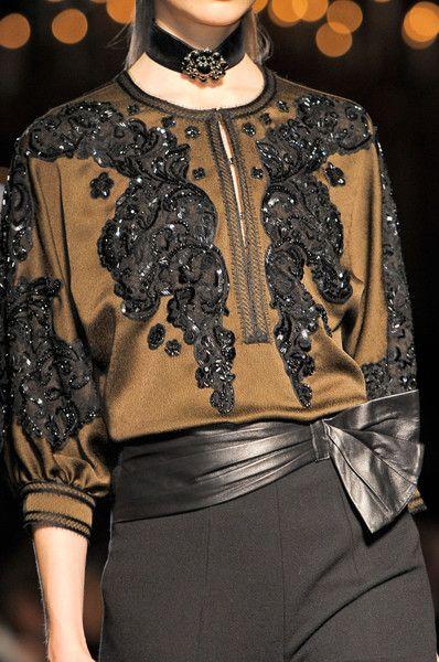 Andrew Gn - Paris Fashion Week Fall, 2012