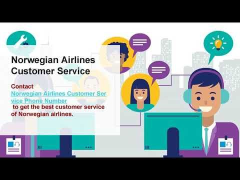 Norwegian Airlines Reservations Phone Number 1888-701-8929 | Toll Free N...