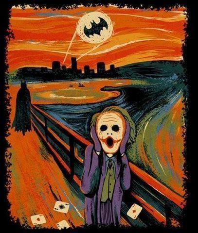 The Dark Knight screems · www.filmstarts.de