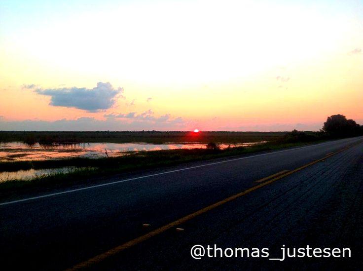 Beautiful sunset in Everglades National Park in Florida! :) #freedom #nature #naturelovers #naturephotography #travel #traveling #travelgram #sunset #sunsets #sunset_madness #usa #america #florida #everglades #nationalpark #roadtrip #roadtrippin #roadtips #roadtripfun