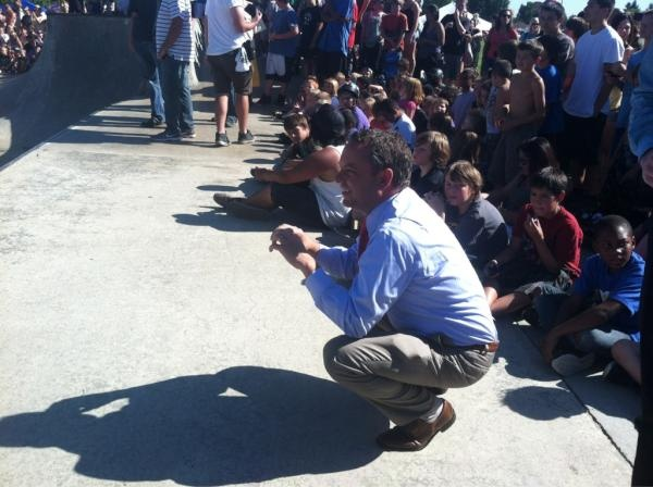Spokane Mayor David Condon is  watching @TonyHawk