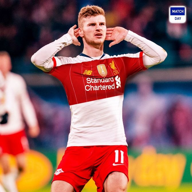 Liverpool Have Been Handed Double Timo Werner Transfer Boost With Philippe Coutinho S Return Being Ruled Out Liverpool E Soccer Match Football Football Match