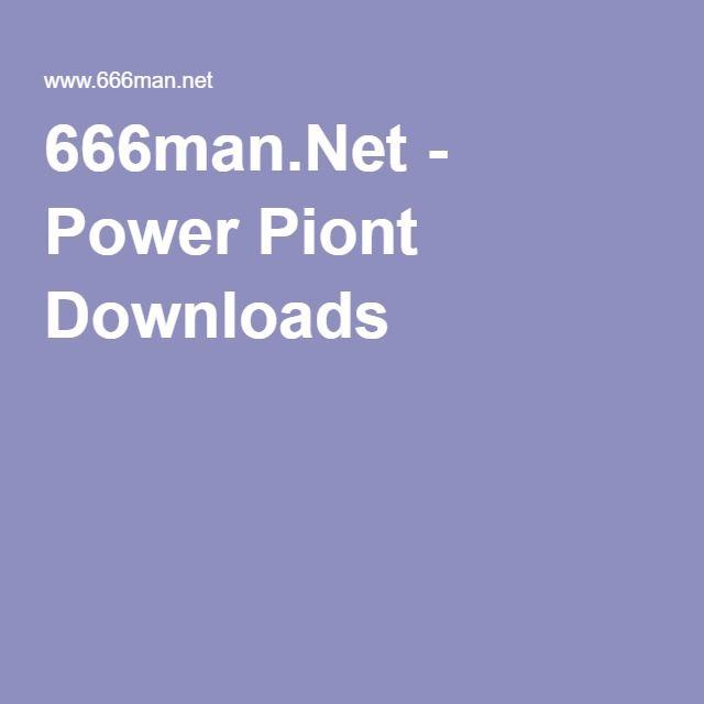 666man.Net - Power Piont Downloads