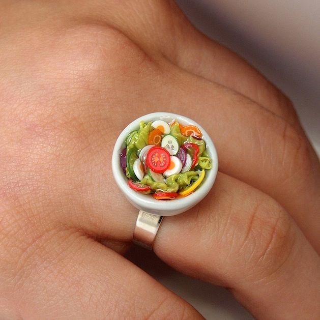 Salad Ring?! What? This ring is incredibly detailed!