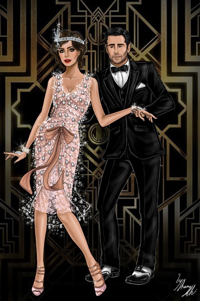 Stepping Into The Great Gatsby Theme Fashion