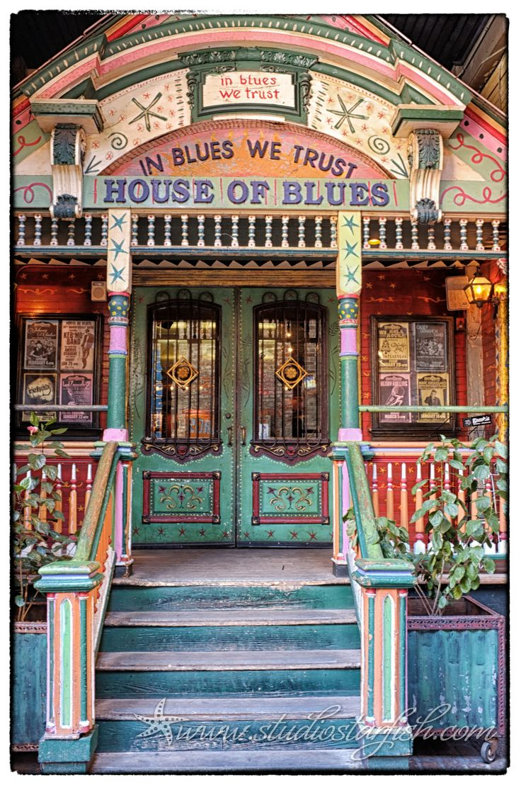 House of Blues, New Orleans, LA by Studio Starfish.. I have been to the one in Downtown Disney Anaheim CA