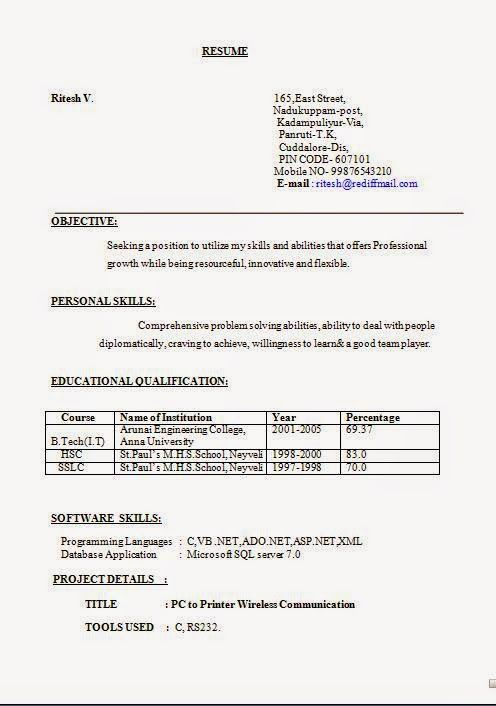 100 format making resume download format making resume - Format For Making A Resume