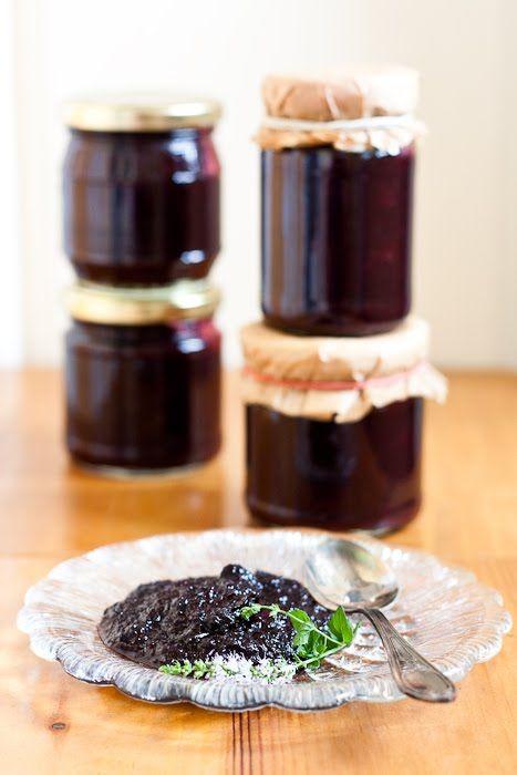 Dżem z czarnych porzeczek i jabłek z sokiem z pomarańczy - cincin.cc - witaj w krainie inspiracji smaku