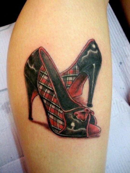 8 best shoe tattoos images on pinterest shoe tattoos tattoo ideas and tattoo art. Black Bedroom Furniture Sets. Home Design Ideas