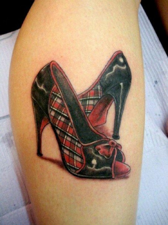 17 best images about shoe tattoos on pinterest plaid military cap and converse. Black Bedroom Furniture Sets. Home Design Ideas