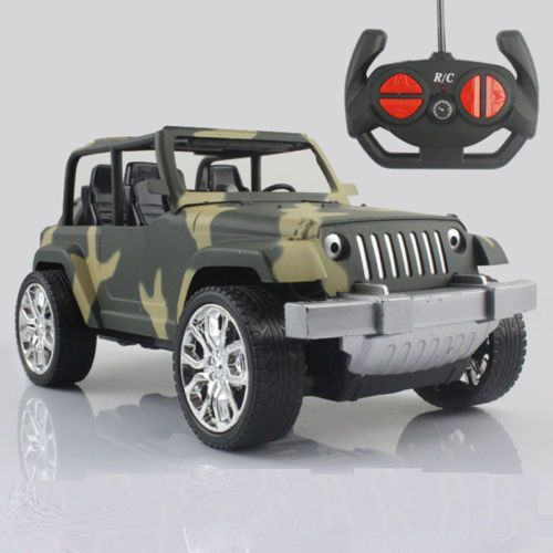 1:18 Drift Speed Radio Remote Control RC Car Off-road Jeep Vehicle Kids Toy