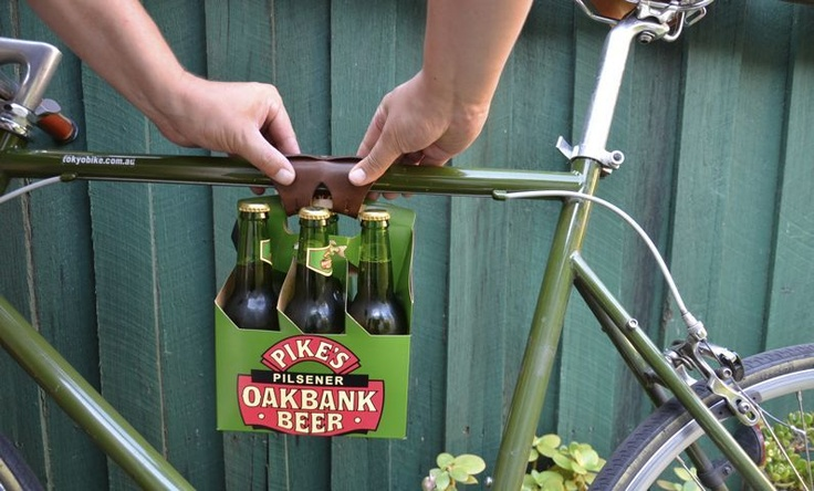 Six Pack Bicycle Frame Cinch at Cycle Style