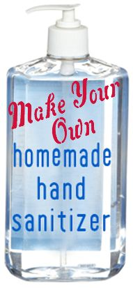 Make your own alcohol free hand sanitizer...she uses essential oils instead of just alcohol, love this!