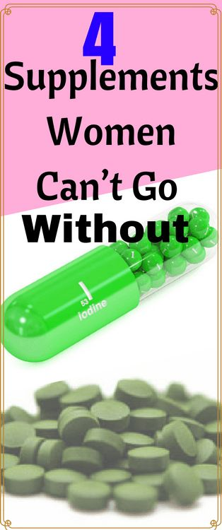 "Take this supplement, and definitely avoid that supplement.  It can be hard to determine which supplements you really need, and which ones you don't.  Gender plays a big role in this decision as well, so we've outlined just a few of the best supplements for women. ""Take this supplement, and definitely avoid that supplement."" Depending on which website you're on, you'll get a …"