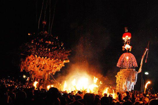 Nozawa Onsen and Fire Festival